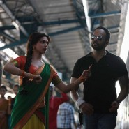 chennaiexpressset16 185x185 From the sets of Chennai Express!