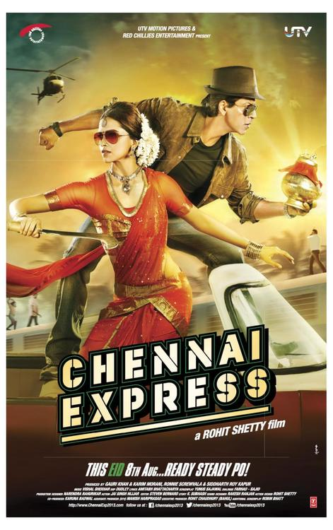 chennaiexpresstrailer Ready Steady Po! Watch the launch of Chennai Express Trailer Today at 4!