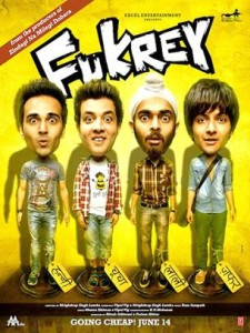 fukreyposter 225x300 Producer Farhan Akhtar Talks Fukrey: Fans can expect 2 hours of laughter and entertainment