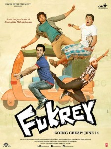 fukreyposter1 224x300 Fukrey Movie Review