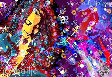 "shailja.comsonam kapoor  59047.1369541192.451.416 Shailja Gupta's Amazing ""Glimpses  100 years of Indian Cinema""  Digital Art Series powered by Adobe®"