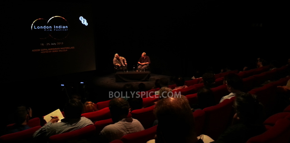 13jul BFI Adoor Irrfan02 IN PICTURES: Adoor Gopalakrishnan and Irrfan Khan at BFI Events for London Indian Film Festival