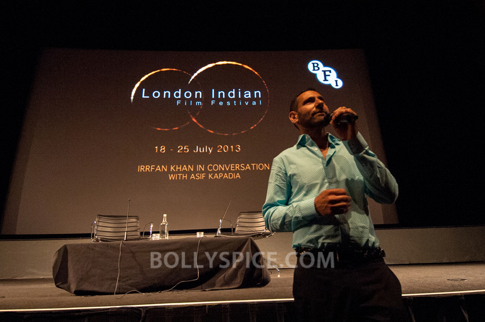 13jul BFI Adoor Irrfan04 IN PICTURES: Adoor Gopalakrishnan and Irrfan Khan at BFI Events for London Indian Film Festival