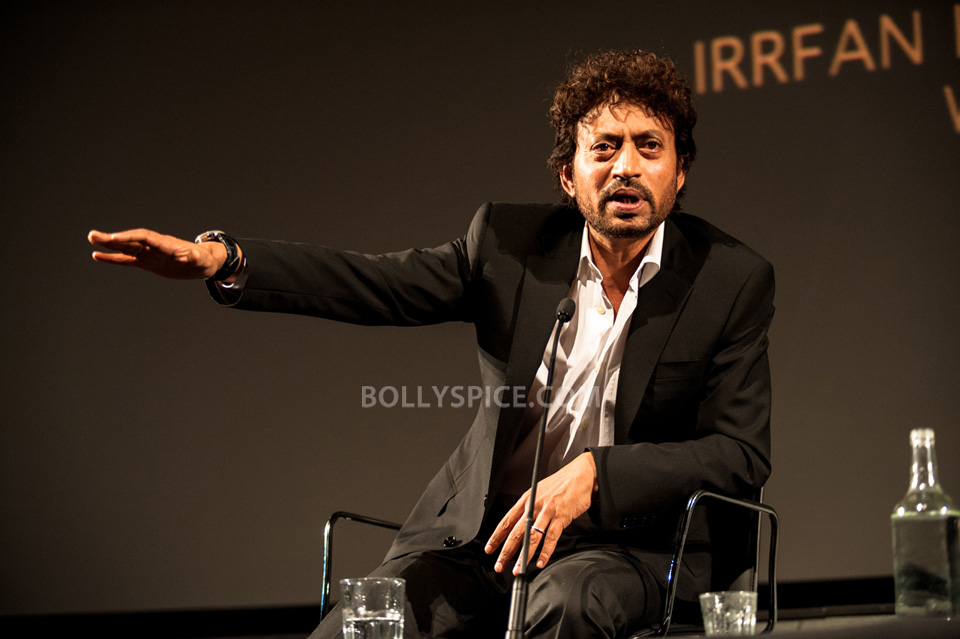 13jul BFI Adoor Irrfan06 IN PICTURES: Adoor Gopalakrishnan and Irrfan Khan at BFI Events for London Indian Film Festival