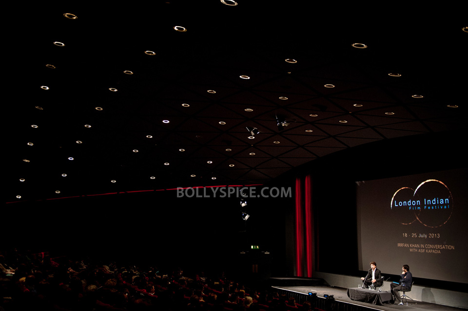 13jul BFI Adoor Irrfan07 IN PICTURES: Adoor Gopalakrishnan and Irrfan Khan at BFI Events for London Indian Film Festival
