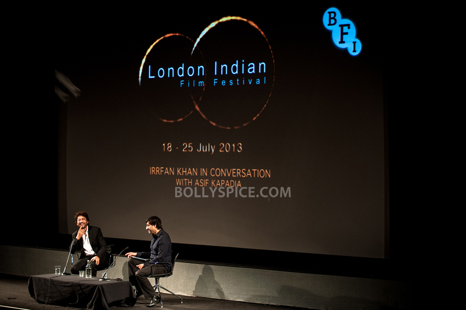 13jul BFI Adoor Irrfan08 IN PICTURES: Adoor Gopalakrishnan and Irrfan Khan at BFI Events for London Indian Film Festival
