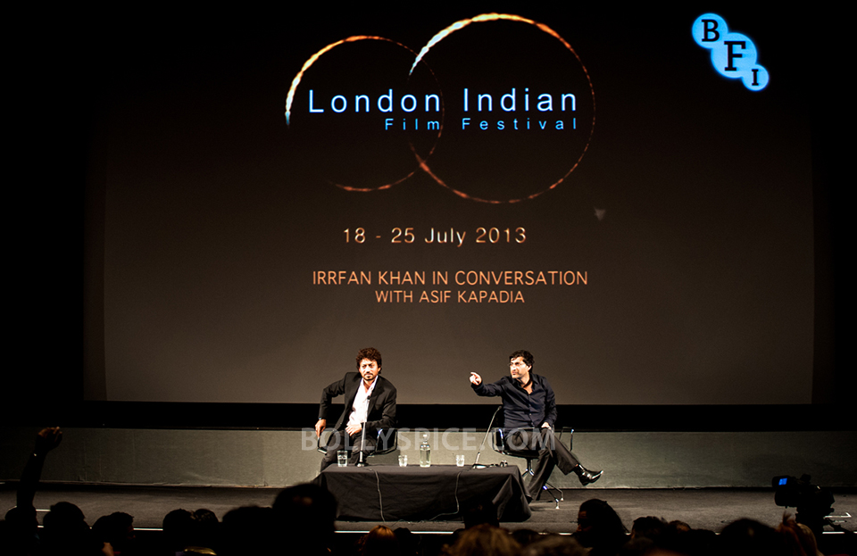 13jul BFI Adoor Irrfan11 IN PICTURES: Adoor Gopalakrishnan and Irrfan Khan at BFI Events for London Indian Film Festival