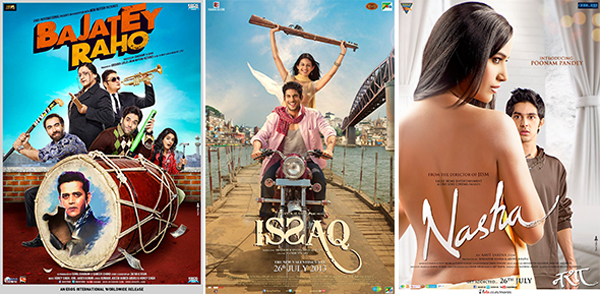 13jul BR I N Bajatey Raho, Issaq, Nasha to lead this week