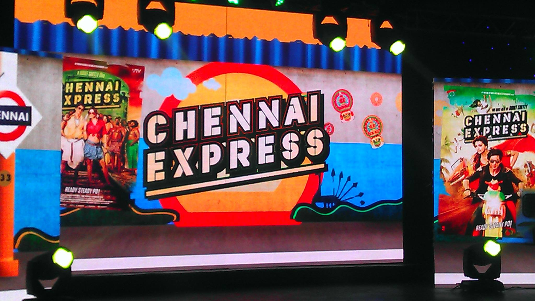 13jul ChennaiExpress MusicLaunch01 Music Launch of Chennai Express!
