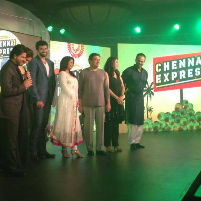13jul ChennaiExpress MusicLaunch02 Music Launch of Chennai Express!
