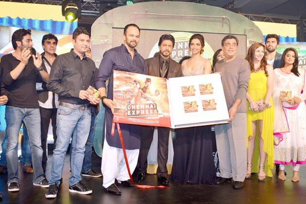 13jul ChennaiExpress MusicLaunch06 Music Launch of Chennai Express!