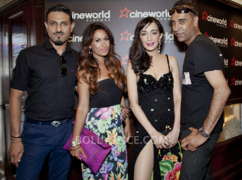 Feryna Wazheir with actress Preeya Kalidass and presenters Raj & Pablo