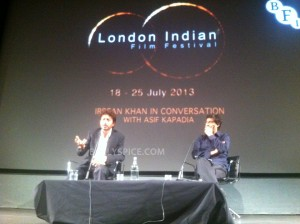 13jul IrrfanKhan LIFFMasterclass 300x224 Some moments from Irrfan Khan's Master Class at the London Indian Film Festival 2013