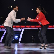 Prabhu Deva and Madhuri Dixit dancing on 'Que Sera Sera' from Pukar