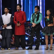 Kapil Sharma, Manish Paul, Karan Patel and choreographer Sharmistha
