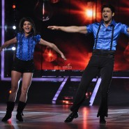 Chorepgrapher Mohena Singh with Contestant Siddharth Shukla