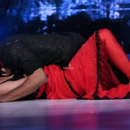 Lauren Gottleib with choreographer Punit Pathak