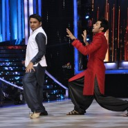 Show hosts Kapil Sharma and Manish Paul