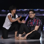 Choreographer Ankita Maity with contestant Mantra