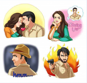 13jul Lootera WeChat Emoticons 300x287 Lootera comes closer to audiences through WeChat