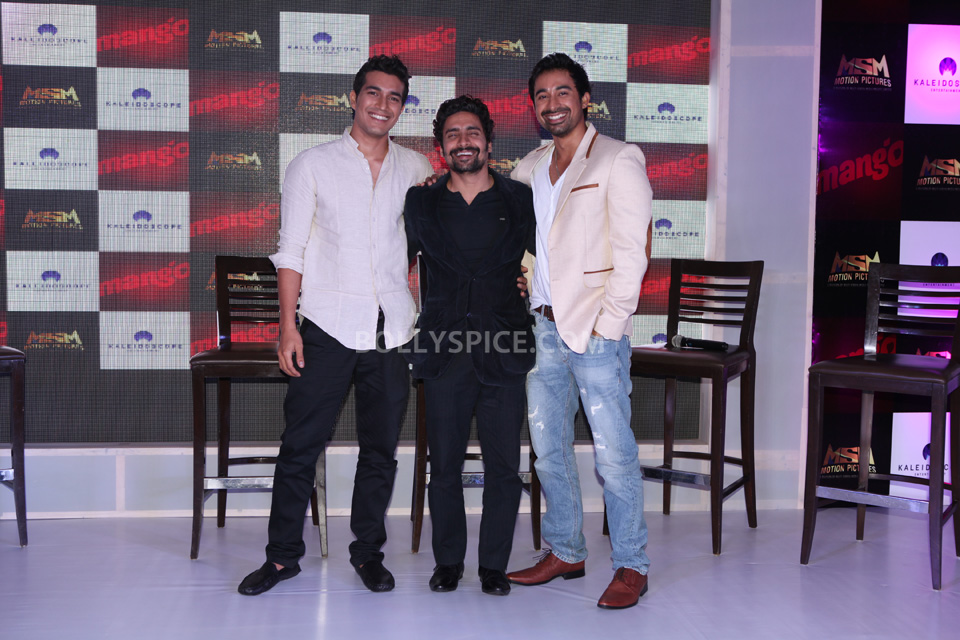 Left to right  Harman, Chandan Roy Sanyal, Rannvijay