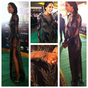 13jul MnB IIFAGreenCarpet02 300x300 Special Report: From the IIFA Awards Green Carpet!