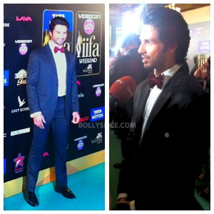 13jul MnB IIFAGreenCarpet09 300x300 Special Report: From the IIFA Awards Green Carpet!