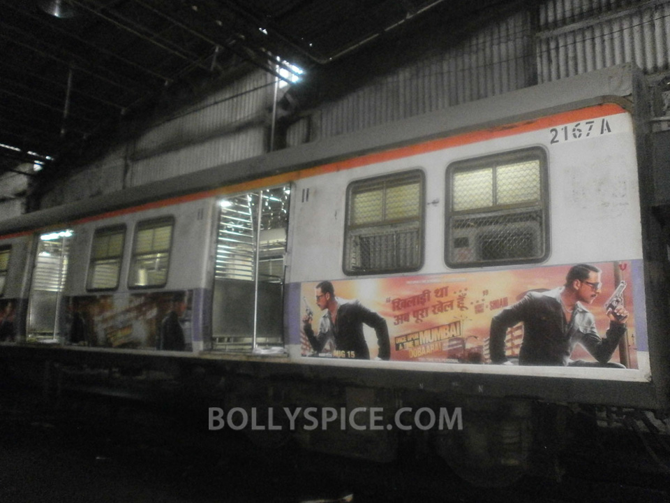 13jul OUATIMD Trains04 IN PICTURES: Mumbai Local Trains carry OUATIMD branding