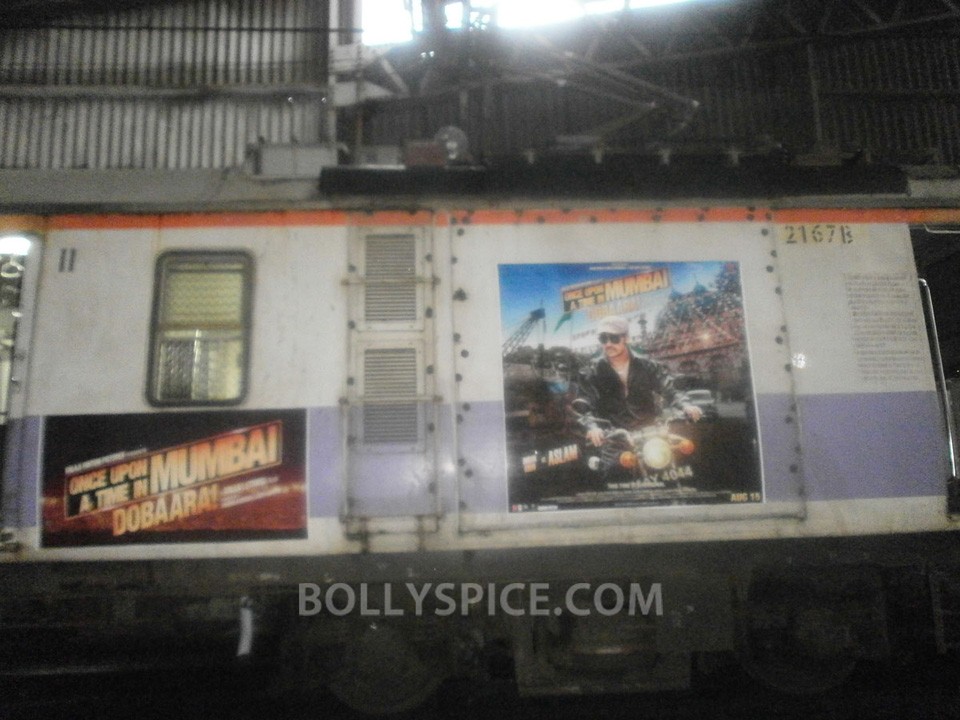 13jul OUATIMD Trains05 IN PICTURES: Mumbai Local Trains carry OUATIMD branding