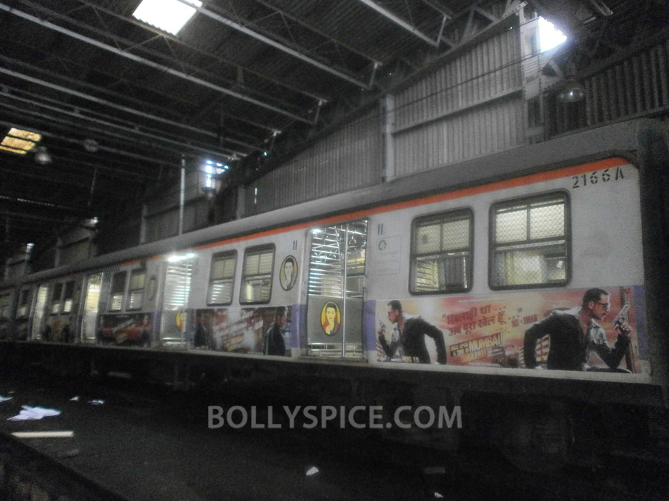 13jul OUATIMD Trains08 IN PICTURES: Mumbai Local Trains carry OUATIMD branding
