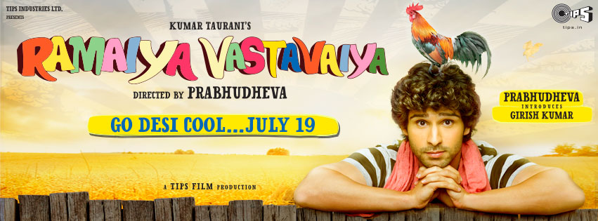 13jul RV Girish01 He saw potential in me and saw that I was ready to put the effort in.   Debutant Girish Kumar talks Ramaiya Vastavaiya