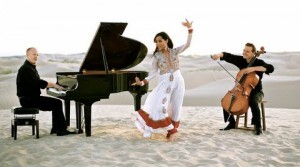 13jul Shweta PianoGuys 300x167 Shweta Subram and The Piano Guys collaborate for their latest single Khushnuma