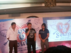 13jul SonuNiigam PyaarTera LuvUSoniyo 300x225 Sonu Nigam launches 'Pyaar Tera' a new song from Luv U Soniyo