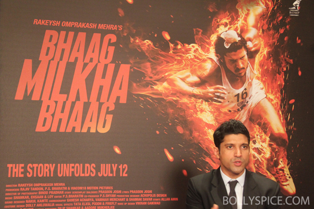 13jul farhaninterview 05 Farhan Akhtar talks Bhaag Milkha Bhaag: I think there is something rare about this movie because Milkha Singh is a rare individual