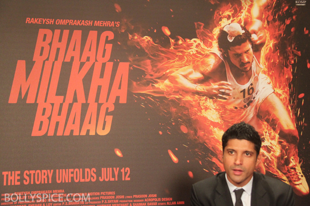 13jul farhaninterview 08 Farhan Akhtar talks Bhaag Milkha Bhaag: I think there is something rare about this movie because Milkha Singh is a rare individual