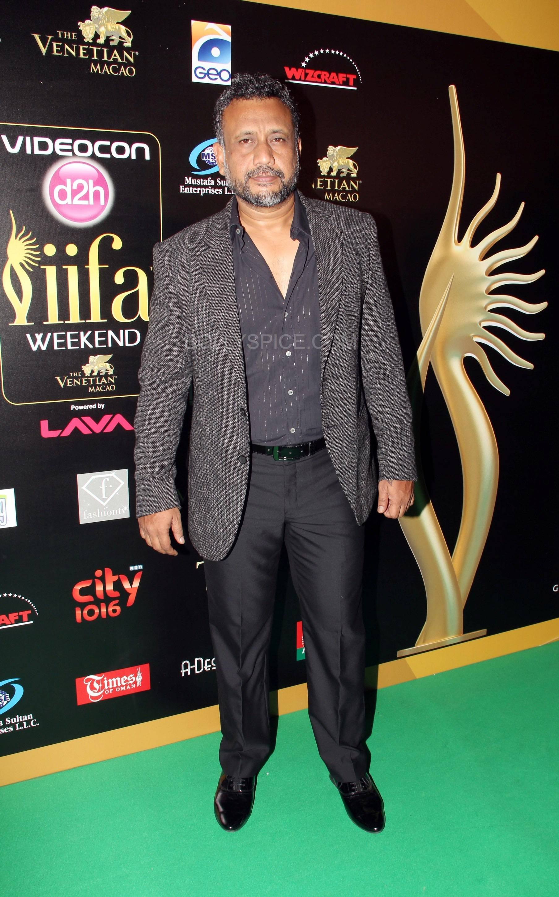 Anubhav Sinha at IIFA Rocks Green carpet More from IIFA Rocks including winners and more Green Carpet pics! Pics added!