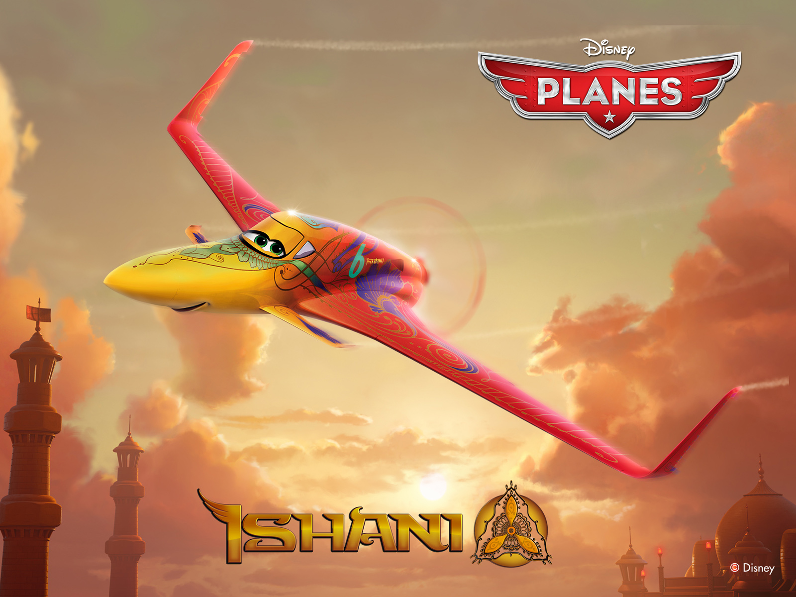 Disneys Planes Wallpaper Ishani Standard Check out Priyanka Chopras Ishani in Disneys Planes