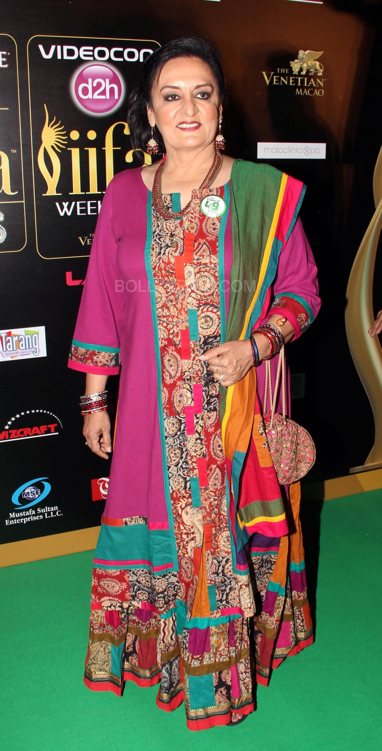 Dolly Ahluwalia at IIFA Rocks Green carpet