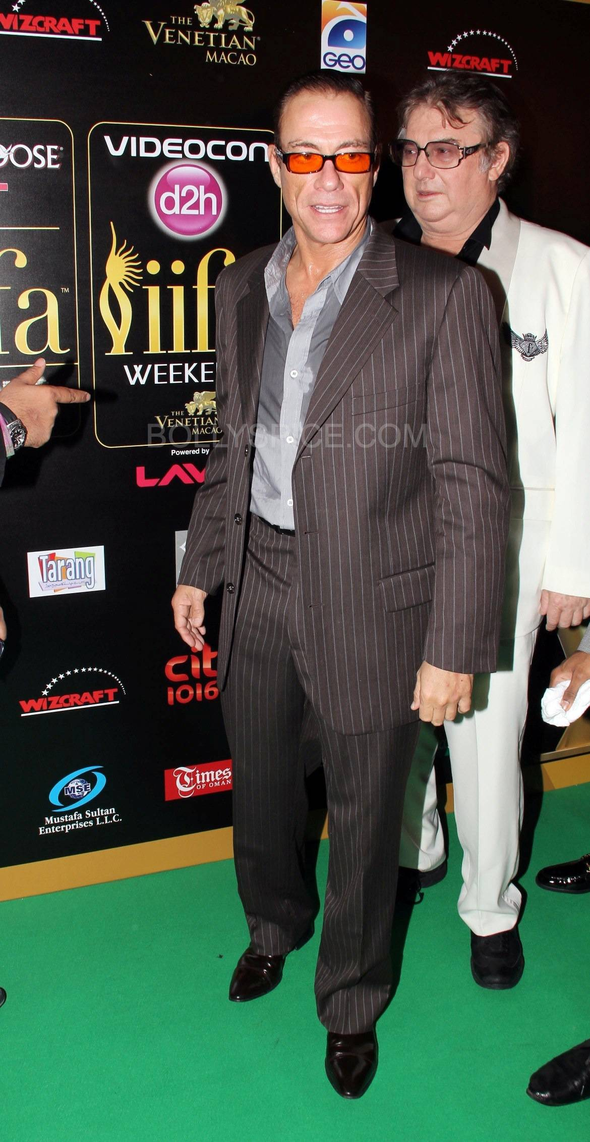 Jean Claude Van Damme More from IIFA Rocks including winners and more Green Carpet pics! Pics added!