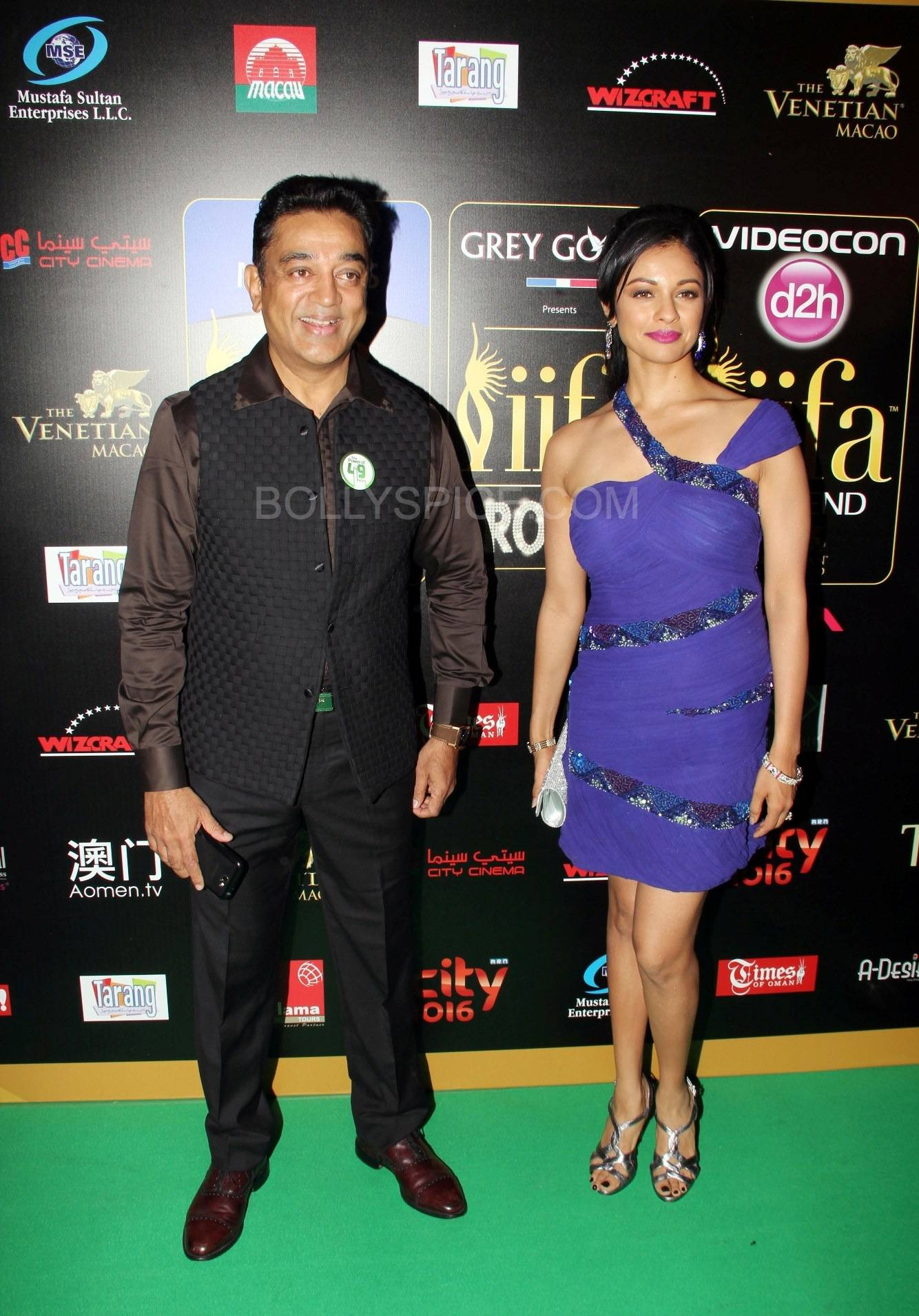 Kamal Haasan at IIFA Rocks Green carpet More from IIFA Rocks including winners and more Green Carpet pics! Pics added!