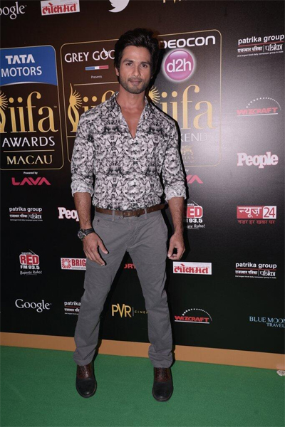 Shahid Whos Hot Whos Not: IIFA Rocks 2013