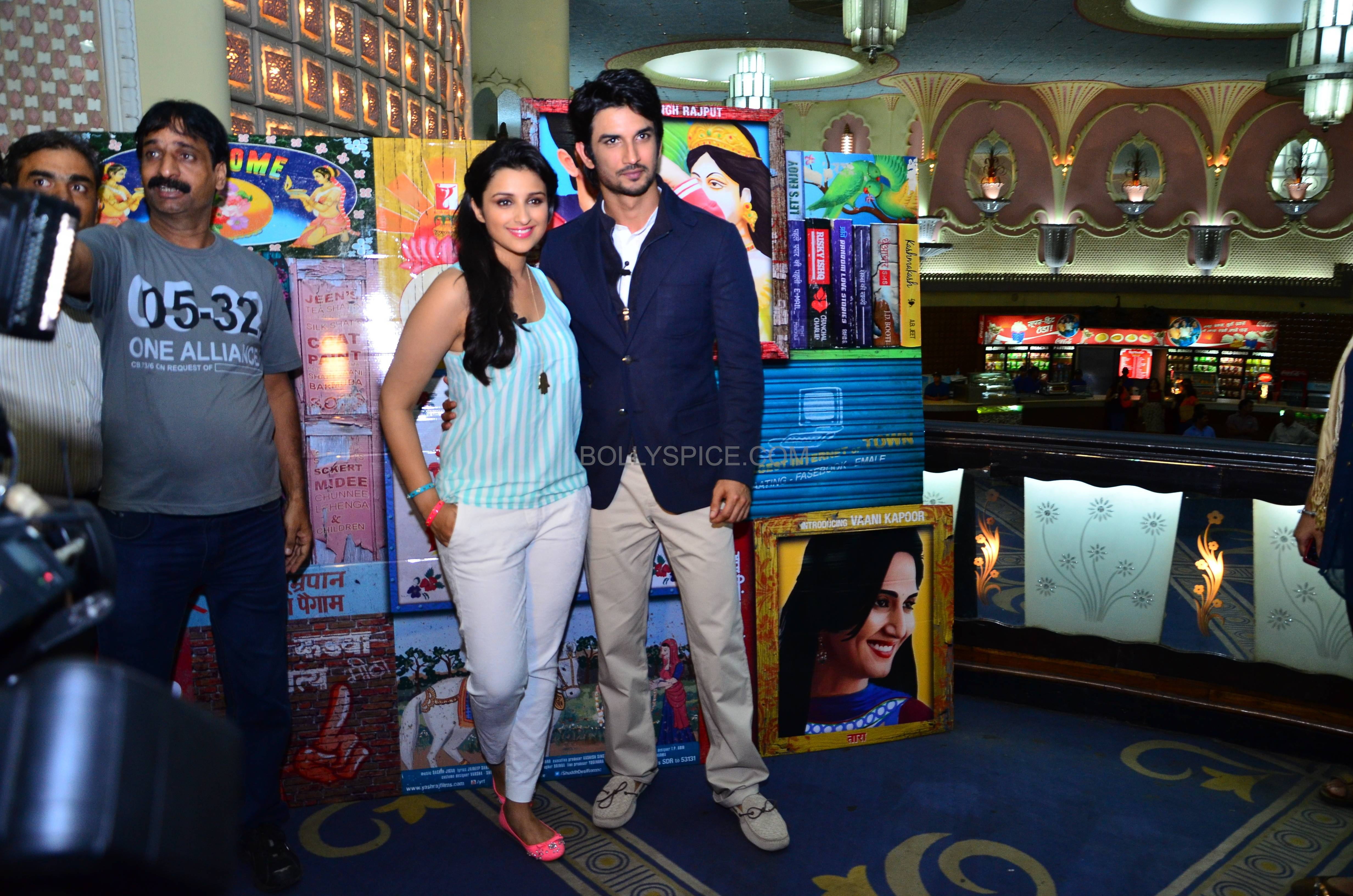 Shuddhdesiromancelaunch03 Event: Trailer Launch of Shuddh Desi Romance