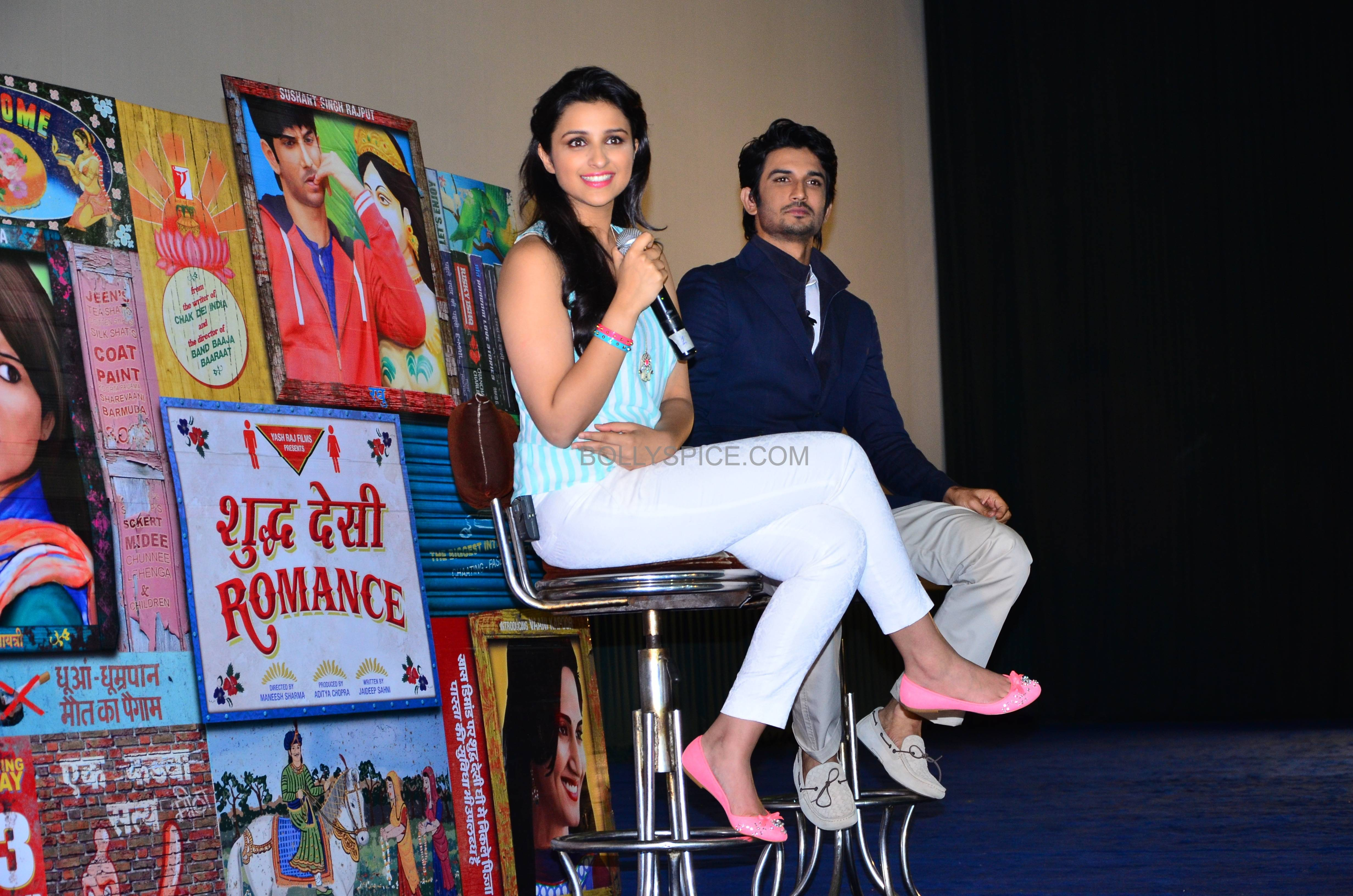 Shuddhdesiromancelaunch04 Event: Trailer Launch of Shuddh Desi Romance
