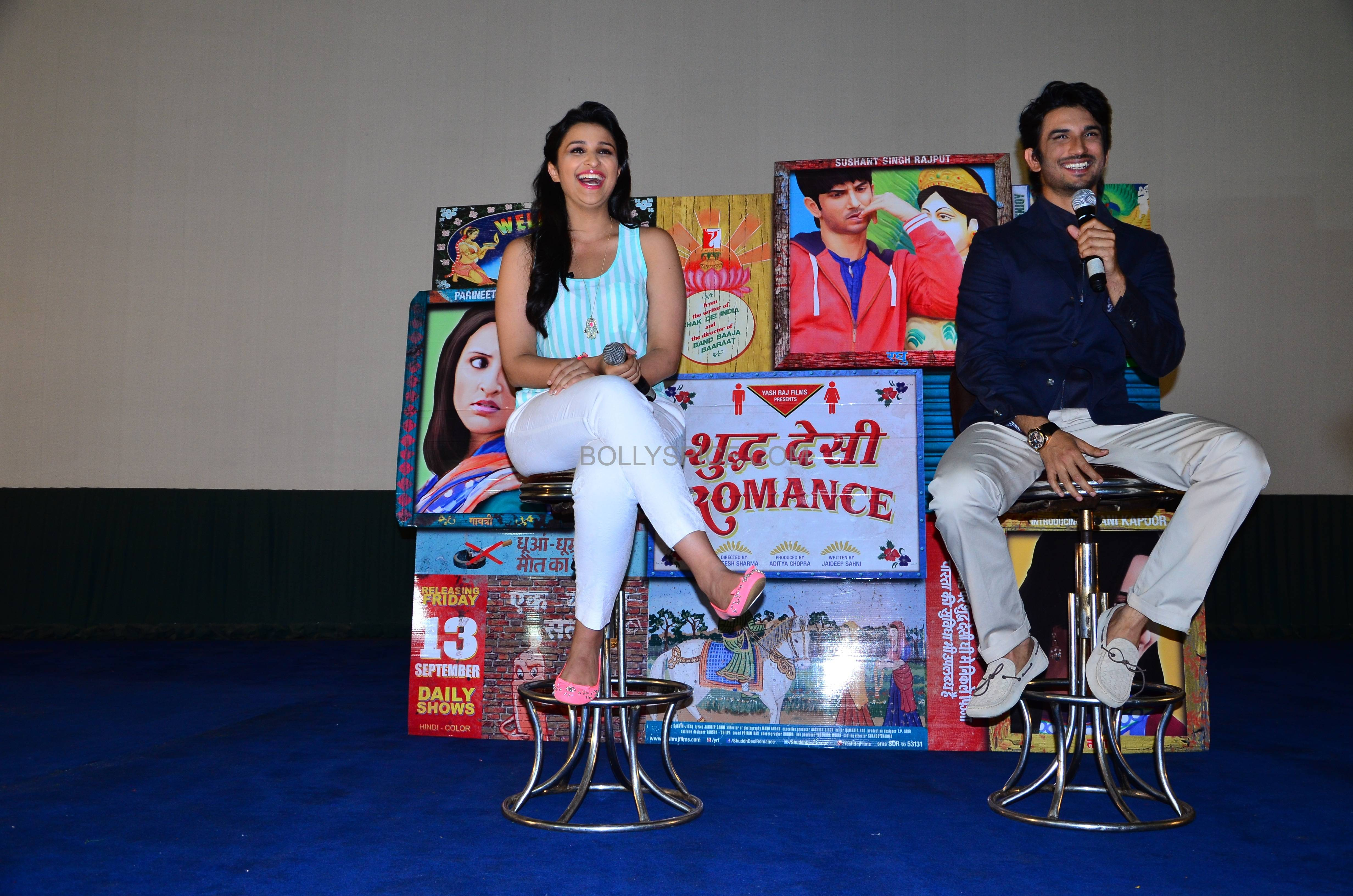 Shuddhdesiromancelaunch05 Event: Trailer Launch of Shuddh Desi Romance