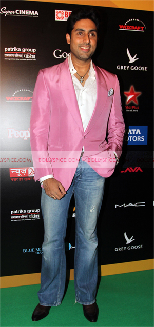abhishek1 Whos Hot Whos Not: IIFA Rocks 2013