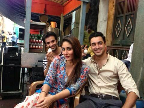 From the Sets of Gori Tere Pyaar Mein Take 2