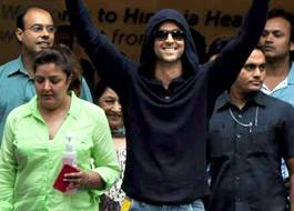 hrithikleaveshospital01 Hrithik Roshan is on Cloud 9 after call from Dharamji and a KJo Surprise