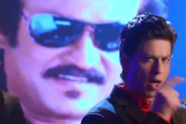 Cool Video: Shah Rukh Khan's tribute to Rajnikanth  – Check Out Lungi Dance by Honey Singh!