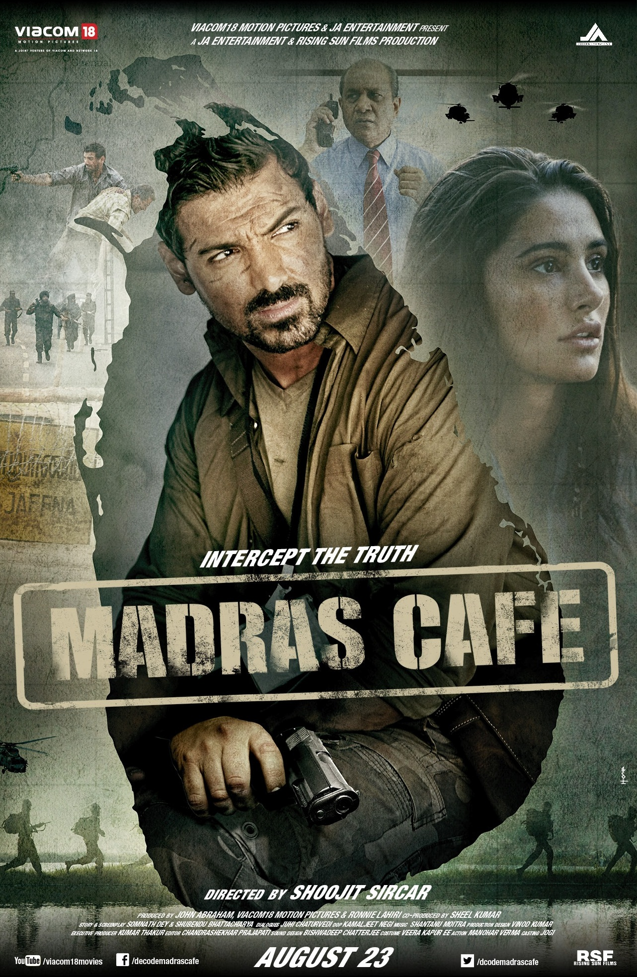 madrascafeposter First Look: John Abraham in Madras Cafe