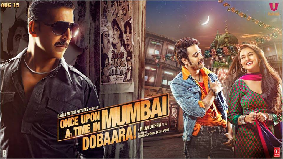 ouatimdposter Once Upon Ay Time in Mumbai Dobaara Movie Review